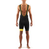 Skins Cycle DNAmic Bib Half Tights Men Black/Citron